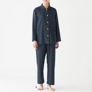 MUJI (無印良品) - 脇に縫い目のない二重ガーゼ パジャマ・婦人L