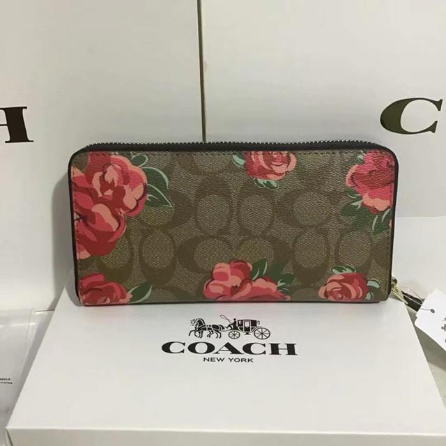 COACH(コーチ)のCOACH  コーチ 長財布 定番人気 新品正規品 レディースのファッション小物(財布)の商品写真