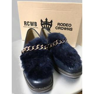 ロデオクラウンズワイドボウル(RODEO CROWNS WIDE BOWL)の【新品】RODEO CROWNS  秋冬 ローファー(ローファー/革靴)