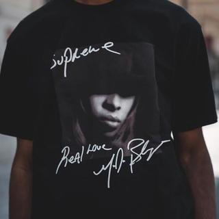 Supreme - 完売品 supreme Mary J Blige Tee black 黒 M