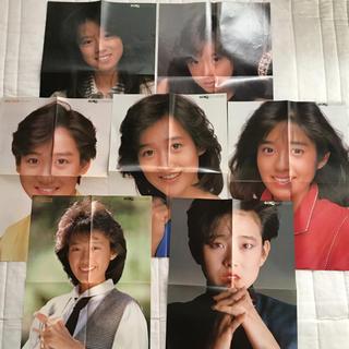 ショウガクカン(小学館)の80年代アイドルポスター(GORO/ゴロー付録)28枚(女性タレント)