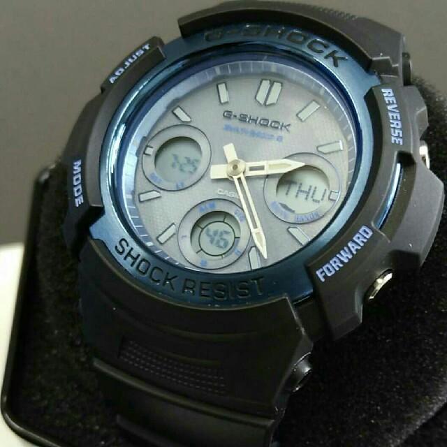 シャネル バッグ オンライン / G-SHOCK - カシオ G-SHOCK ブルーダイヤル メンズ腕時計の通販 by ラ・熊's shop|ジーショックならラクマ