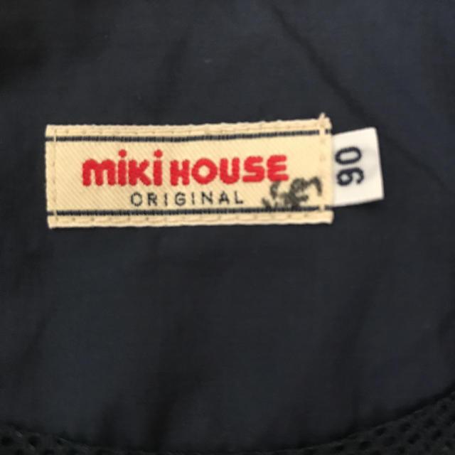 mikihouse(ミキハウス)のミキハウス ウィンドブレーカー ジャンパー キッズ/ベビー/マタニティのキッズ服 男の子用(90cm~)(ジャケット/上着)の商品写真