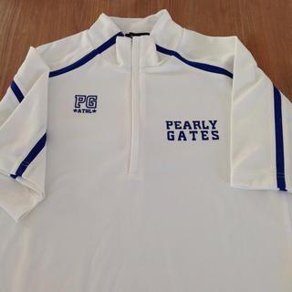 PEARLY GATES - パーリーゲイツ ハーフジップシャツ