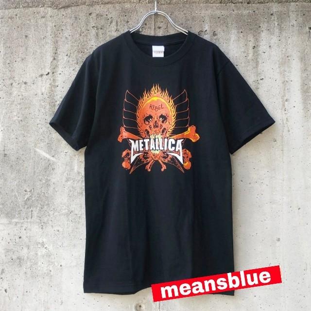 ONE OK ROCK(ワンオクロック)のXL)METALLICA  反逆者 Tシャツ メンズのトップス(Tシャツ/カットソー(半袖/袖なし))の商品写真