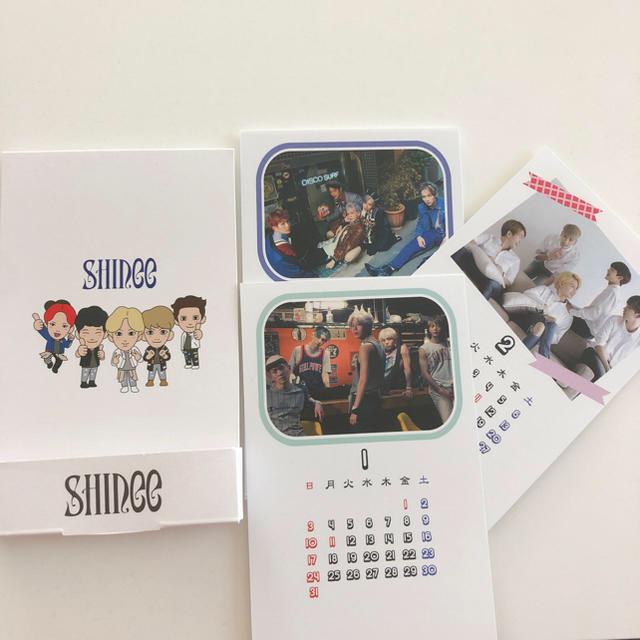 SHINee(シャイニー)のカレンダー5個セット エンタメ/ホビーのCD(K-POP/アジア)の商品写真