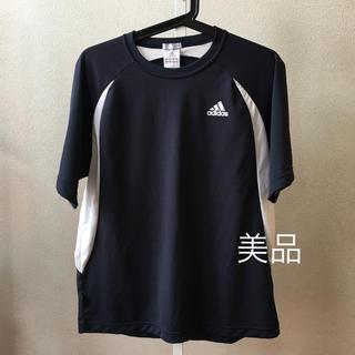 adidas - 美品❗️adidas ネイビードライTシャツ
