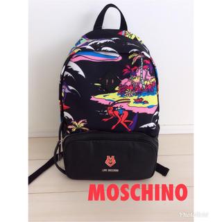 モスキーノ(MOSCHINO)のタグ付き 新品 モスキーノ MOSCHINO リュック(リュック/バックパック)