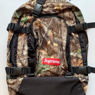 Supreme - Supreme Backpack (FW19) Tree Camo
