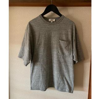 ハイク(HYKE)のHYKEグレー半袖Tシャツハイクサイズ1(Tシャツ(半袖/袖なし))