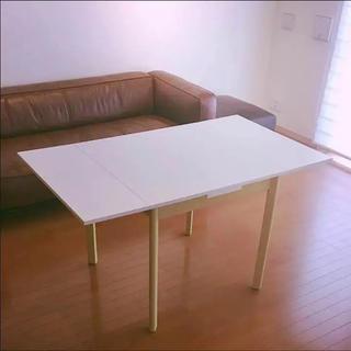フランフラン(Francfranc)のフランフラン Francfranc 伸縮テーブル ダイニングテーブル(ダイニングテーブル)