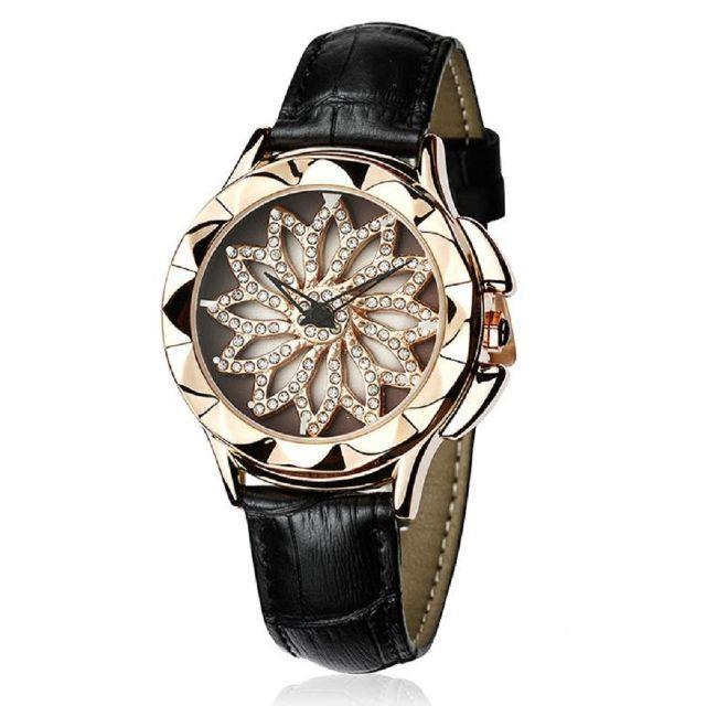 エルメス 財布 刻印 場所 、 ぐるぐる時計 グルグル 文字盤が回る ラグジュアリー レザー 腕時計 黒の通販 by gra i's shop9/4-11発送お休みとなります。|ラクマ