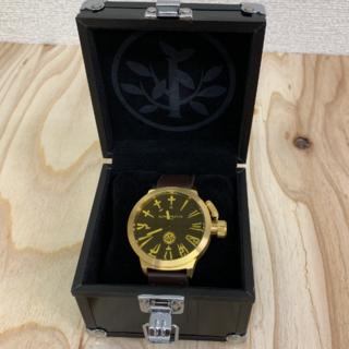 アライブアスレティックス(Alive Athletics)の◆新品未使用◆ALIVE腕時計 BIG CITY gold/yellow(腕時計(アナログ))