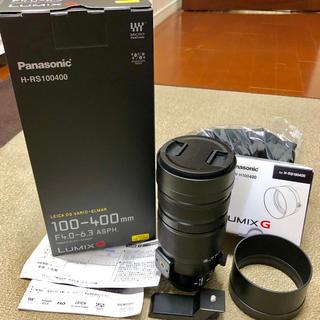 Panasonic - LEICA DG VARIO-ELMAR 100-400mm レンズフード付