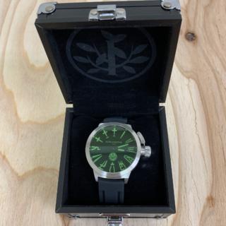 アライブアスレティックス(Alive Athletics)の◆新品未使用◆ALIVE腕時計 BIG CITY silver/green(腕時計(アナログ))