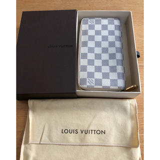 LOUIS VUITTON - 良品 正規品 ルイヴィトン ダミエ アズール ジッピーウォレット