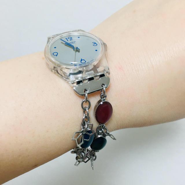 ミュウミュウ バッグ 黒 / swatch - 【新品未使用】swatch ブレスレットの通販 by 熊ちゃん's shop|スウォッチならラクマ