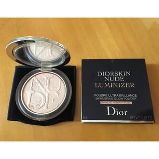 ディオール(Dior)のDior ディオールスキン ミネラル ヌード ルミナイザー パウダー(フェイスカラー)