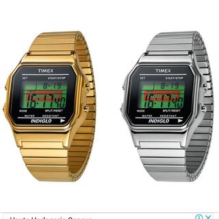 シュプリーム(Supreme)のSupreme/Timex Digital Watch GOLD金(腕時計(デジタル))