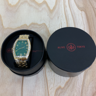 アライブアスレティックス(Alive Athletics)の◆新品未使用◆ALIVE腕時計 不夜城 gold(腕時計(アナログ))