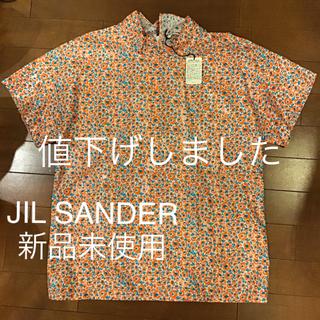 ジルサンダー(Jil Sander)の大特価 新品未使用 JIL  SANDER レディース  シャツ ブラウス(シャツ/ブラウス(半袖/袖なし))