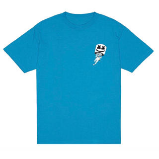 マシュメロ 公式グッズ フォートナイト 上からのビート T シャツ 半袖(Tシャツ/カットソー(半袖/袖なし))
