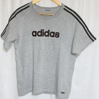 アディダス(adidas)のアディダス 半袖スエット スリーライン (Tシャツ/カットソー(半袖/袖なし))
