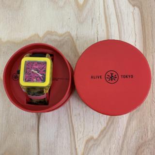 アライブアスレティックス(Alive Athletics)の◆新品未使用◆ALIVE腕時計 SCANDAL yellow(腕時計(アナログ))
