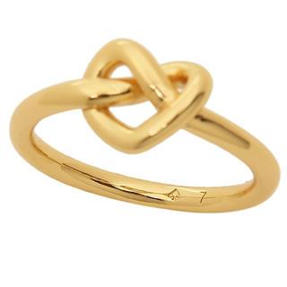 kate spade new york - ケイトスペード ラブズミーノット リング 指輪