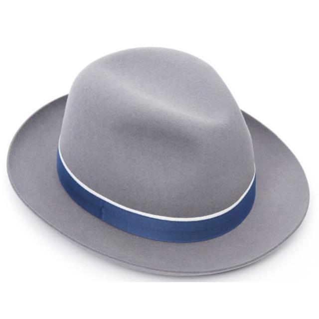 Borsalino(ボルサリーノ)のクリスティーズ★ウィリアム・ファーフェルト・レーシング・トリルビー59CM メンズの帽子(ハット)の商品写真