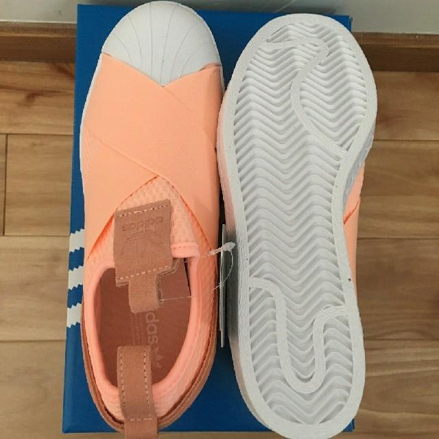 adidas(アディダス)の大SALE!!【新品】adidas スリッポン(サーモンピンク) レディースの靴/シューズ(スニーカー)の商品写真