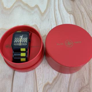 アライブアスレティックス(Alive Athletics)の◆新品未使用◆ALIVE腕時計 OCTAGON black(腕時計(アナログ))