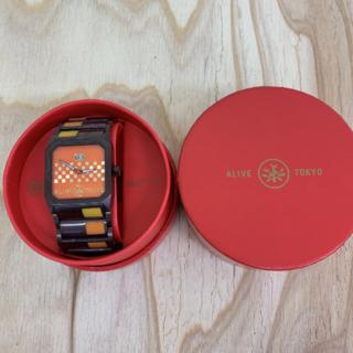 アライブアスレティックス(Alive Athletics)の◆新品未使用◆ALIVE腕時計 OCTAGON brown(腕時計(アナログ))