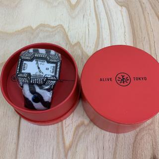 アライブアスレティックス(Alive Athletics)の◆新品未使用◆ALIVE腕時計 CHAMP zebra crystal(腕時計(アナログ))