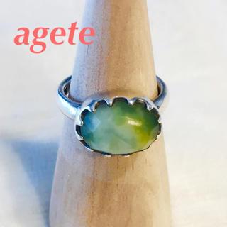 アガット(agete)のagete 天然石ストーンリング (リング(指輪))