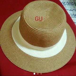 ジーユー(GU)の試着のみ GU 麦わら帽子(麦わら帽子/ストローハット)
