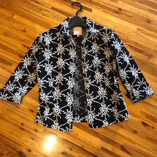 シビラ(Sybilla)の美品 シビラ 総刺繍 ジャケット(テーラードジャケット)