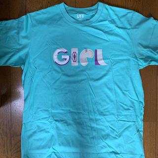 UNIQLO - ユニクロ ガールスケートボード Tシャツ