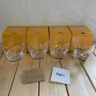 スガハラ(Sghr)のsghr スガハラガラス/グラス4個セット(グラス/カップ)