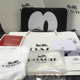 COACH - COACH 長財布 ミッキー 新品 ウィンク