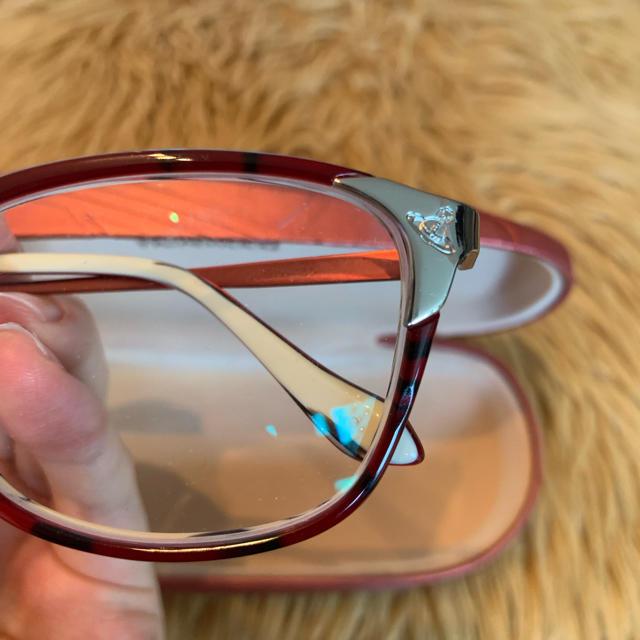 Vivienne Westwood(ヴィヴィアンウエストウッド)のvivienne westwood 眼鏡 レディースのファッション小物(サングラス/メガネ)の商品写真