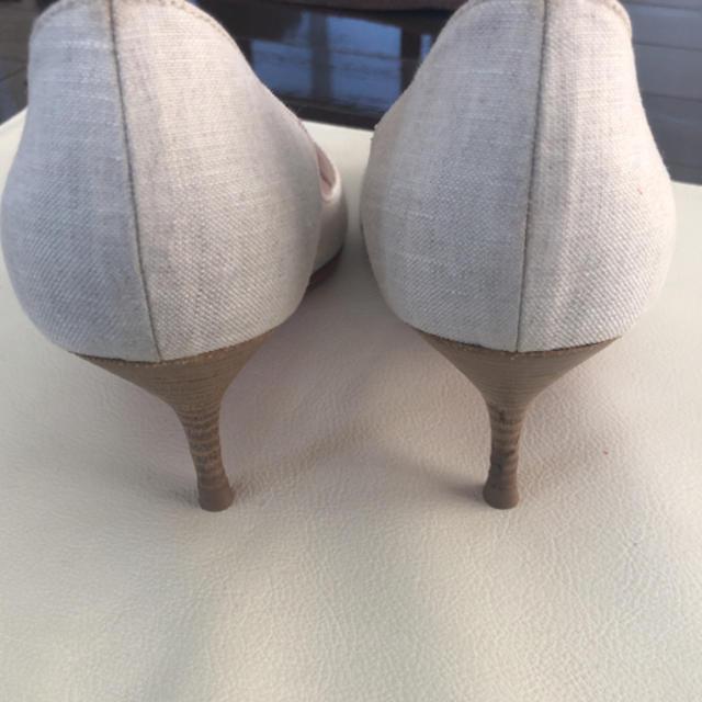 Christian Louboutin(クリスチャンルブタン)のクリスチャン ルブタン  パンプス オープントゥ レディースの靴/シューズ(ハイヒール/パンプス)の商品写真