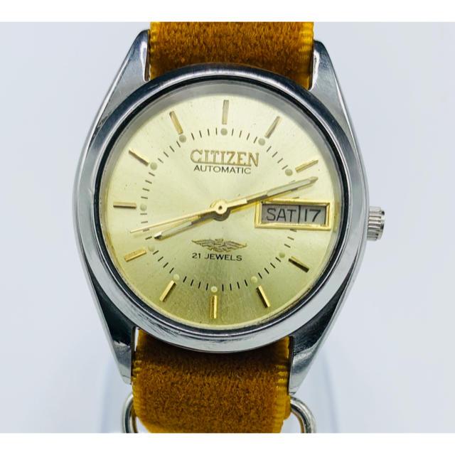 CITIZEN - アンティーク シチズンオートマチック ゴールド 21石の通販 by YOTANA's shop|シチズンならラクマ