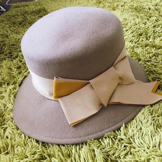 CA4LA - CA4LA 新品SALE 女優帽 ボーラー帽 リボン 秋冬 ハット