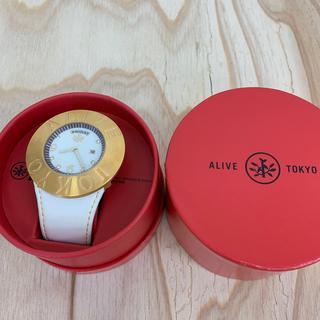 アライブアスレティックス(Alive Athletics)の◆新品未使用◆ALIVE腕時計 NEW SCHOOL gold(腕時計(アナログ))
