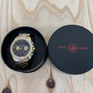 アライブアスレティックス(Alive Athletics)の◆新品未使用◆ALIVE腕時計 DYNASTY gold/black(腕時計(アナログ))