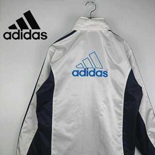 adidas - 90s adidas アディダス ウィンドブレーカー デカロゴ 刺繍 383