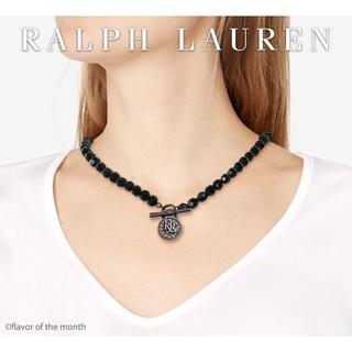 ラルフローレン(Ralph Lauren)のRalph Lauren シックなブラッククリスタル・チャームネックレス(ネックレス)