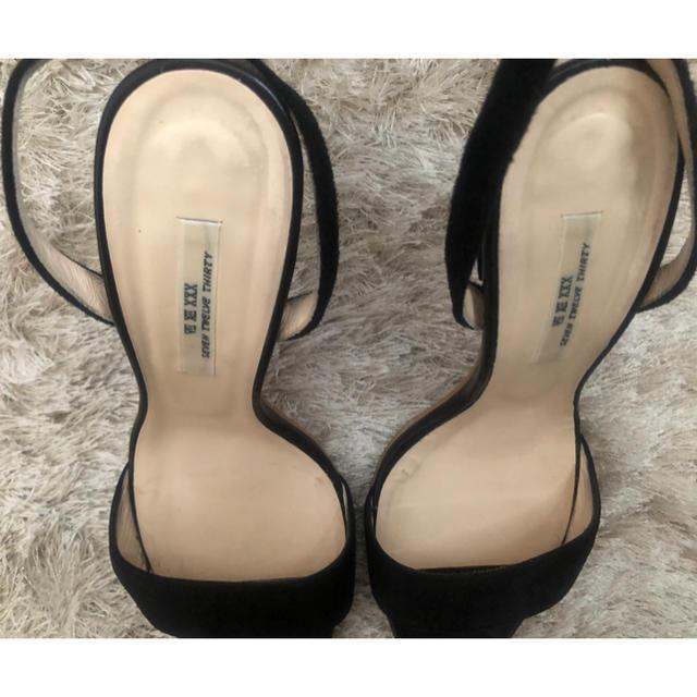 VII XII XXX(セヴントゥエルヴサーティ)のseven twelve thirty ヒール サンダル レディースの靴/シューズ(サンダル)の商品写真
