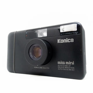 KONICA MINOLTA - KONICA BiG mini BM-301(電池付き)